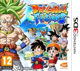 Dragon Ball Fusions sur Nintendo 3DS