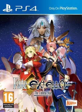 Fate Extella : The Umbral Star sur Playsation 4