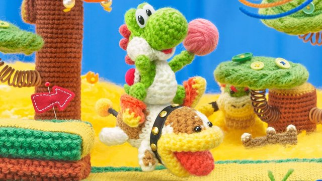 Poochy et Yoshi's Woolly World